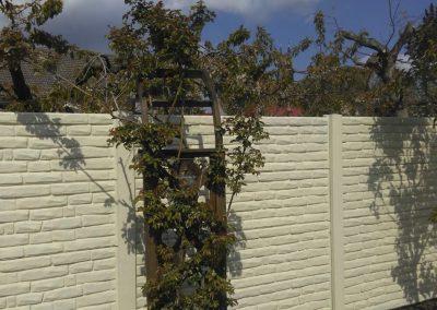 Sichtschutz-Beton